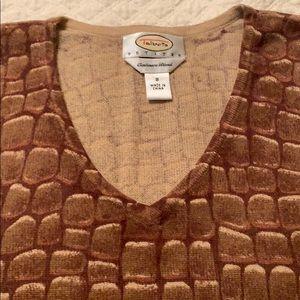 Talbots sweater cashmere P S